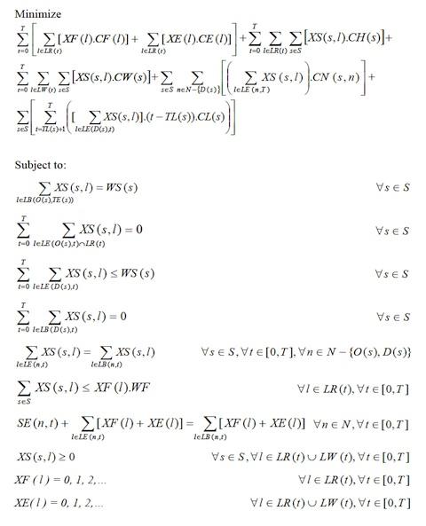 Complex MCNF Model.